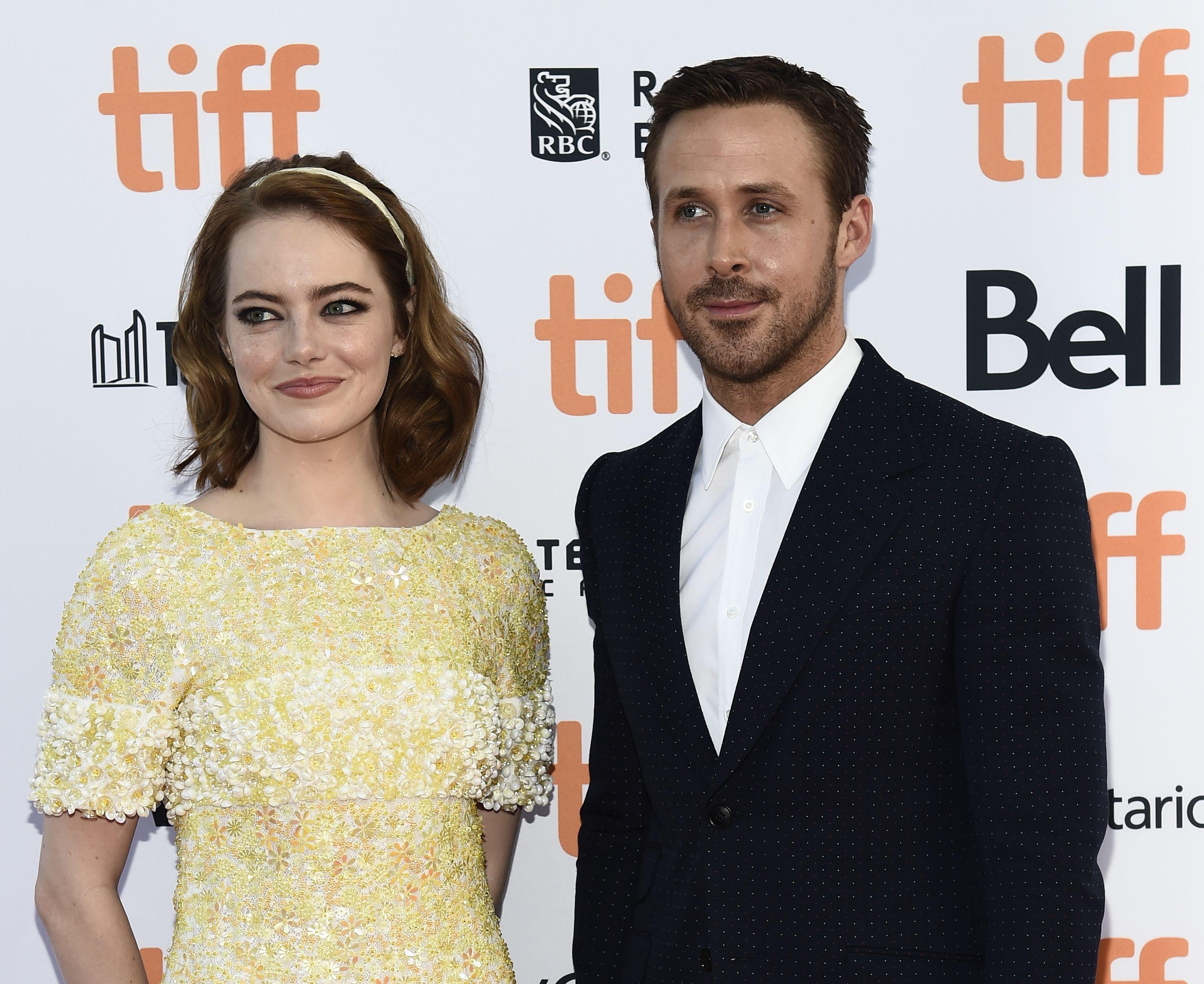Toronto Film Festival 2016 Emma Stone Ryan Gosling.