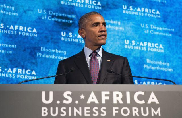 U.S. Africa Business Forum, New York, USA - 21 Sep 2016