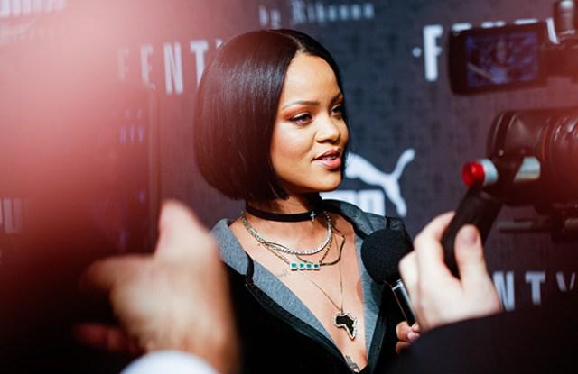 Fenty Puma by Rihanna show, Fall Winter 2016, New York Fashion Week, America - 12 Feb 2016