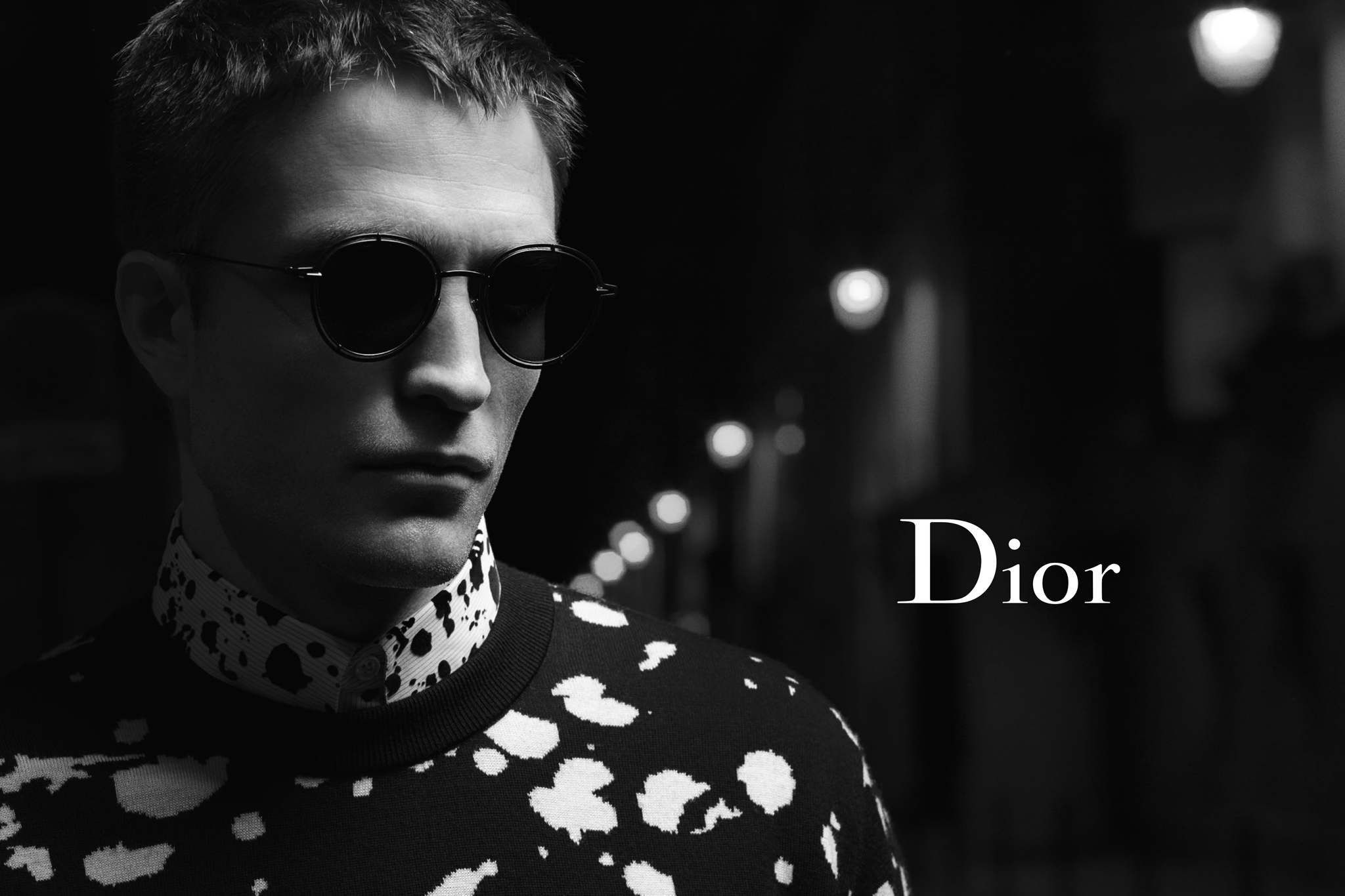 Robert Pattinson featured in Nocturnal Dior ad campaign.