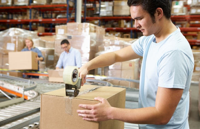 Retailers shipping goods