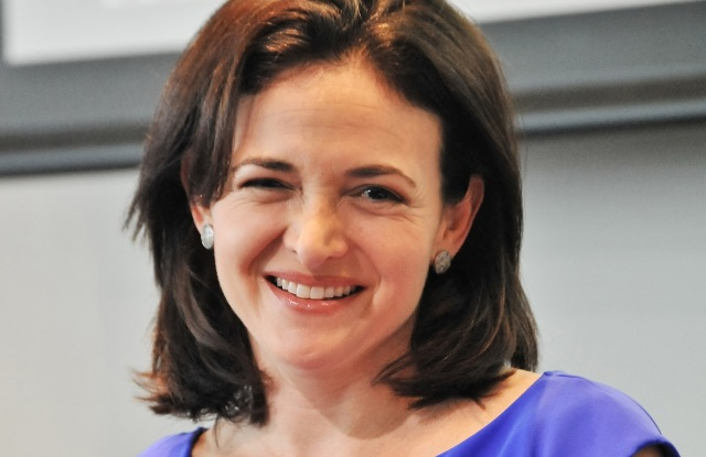 Facebook chief operating officer Sheryl Sandberg.