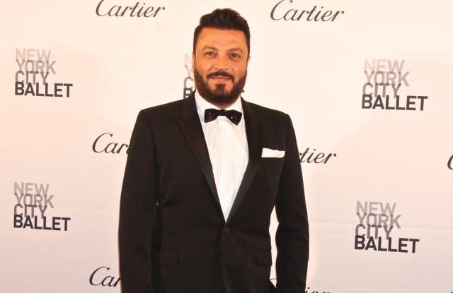 Zuhair Murad at New York City Ballet Fall Gala, America - 30 Sep 2015