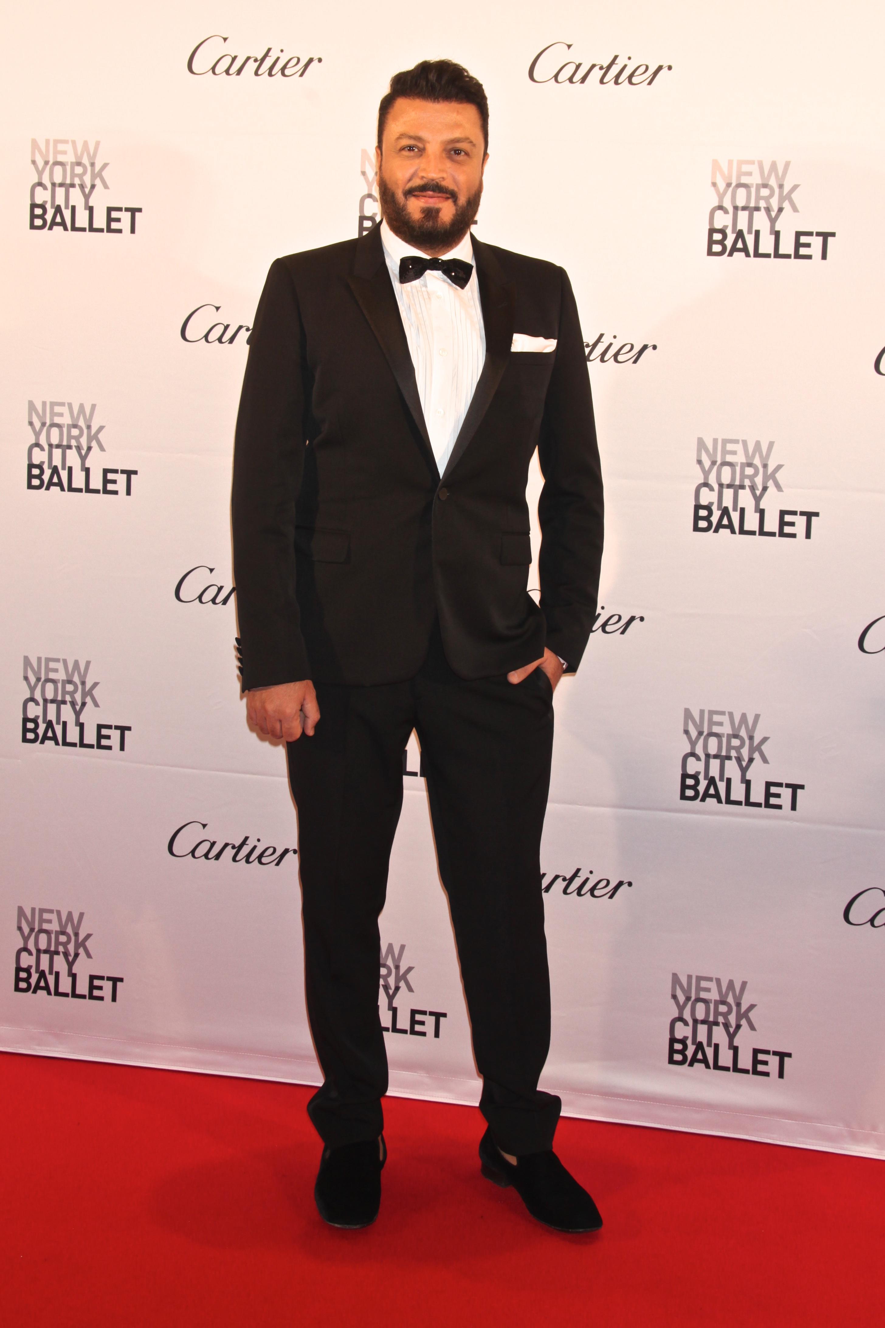 Zuhair Murad at New York City Ballet Fall Gala, America - 30 Sep 2015