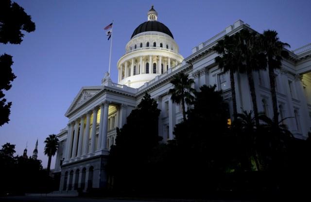California Legislature, Sacramento, USA - 31 Aug 2016