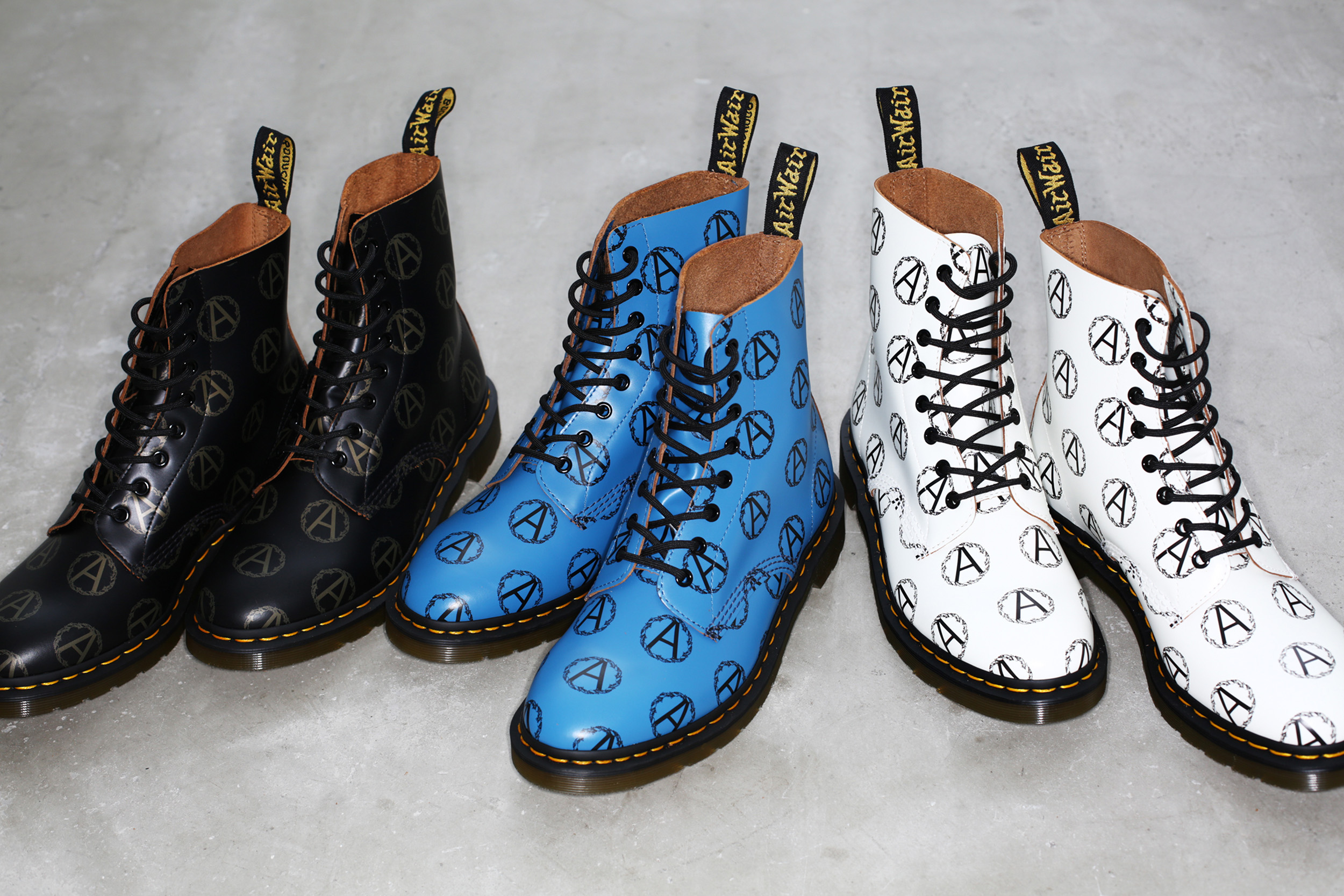 Boots from the Supreme, Undercover collaboration with Dr. Martens.