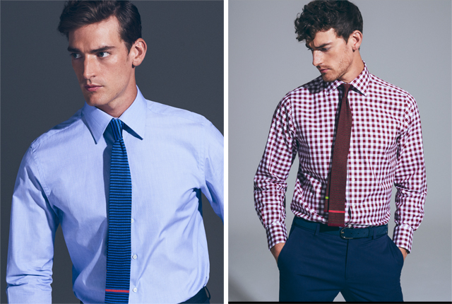 Thomas Pink business shirting range