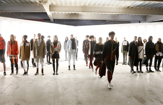 Tim Coppens x Under Armour RTW Fall 2016