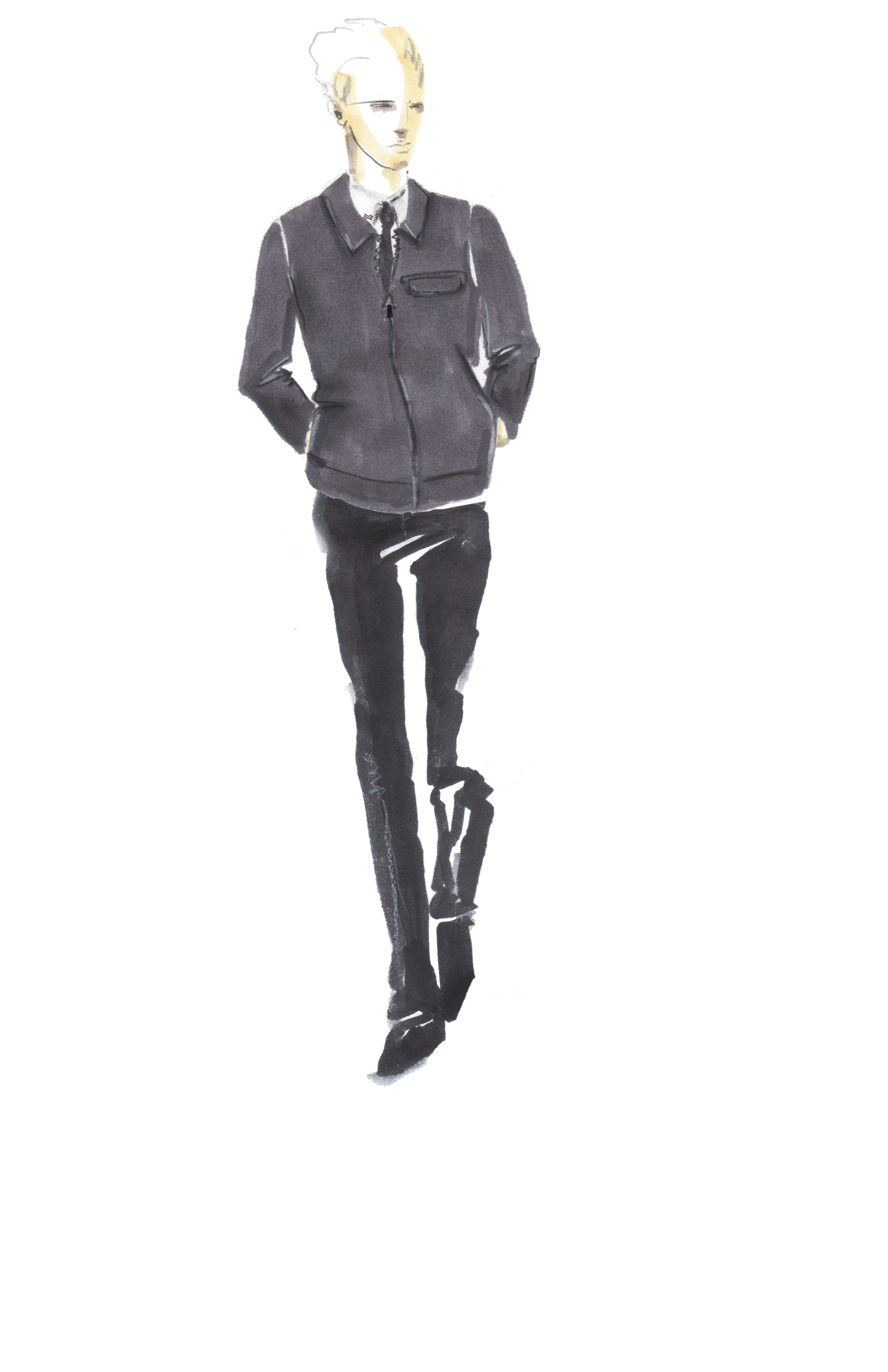 A Timo Weiland look from the uniform line.