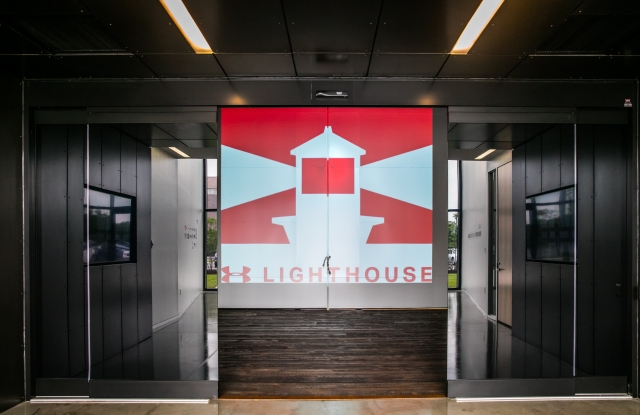 The Under Armour Lighthouse center creates innovative products.