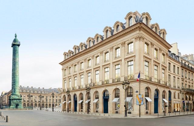 A rendering of Louis Vuitton's future flagship at Place Vendôme.