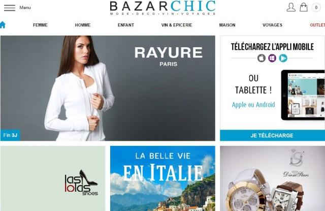 Galeries Lafayette BazarChic E-commerce