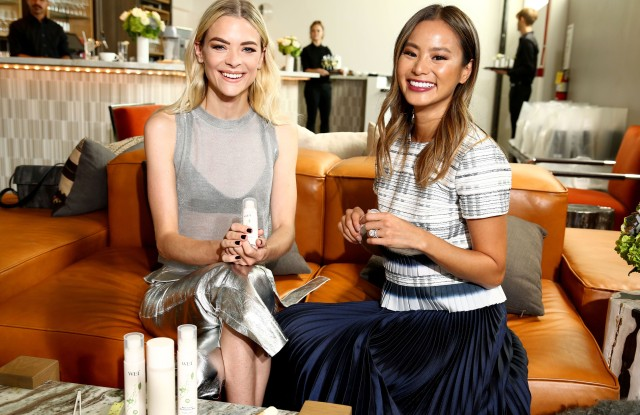 Jaime King and Jamie Chung attended WEI Beauty's Detoxifying Skincare Line