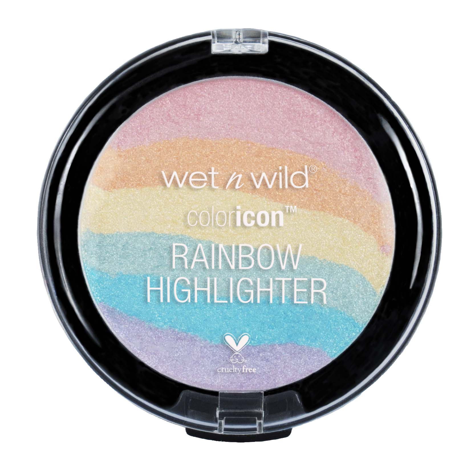 The ColorIcon Rainbow Highlighter by Wet 'n' Wild.