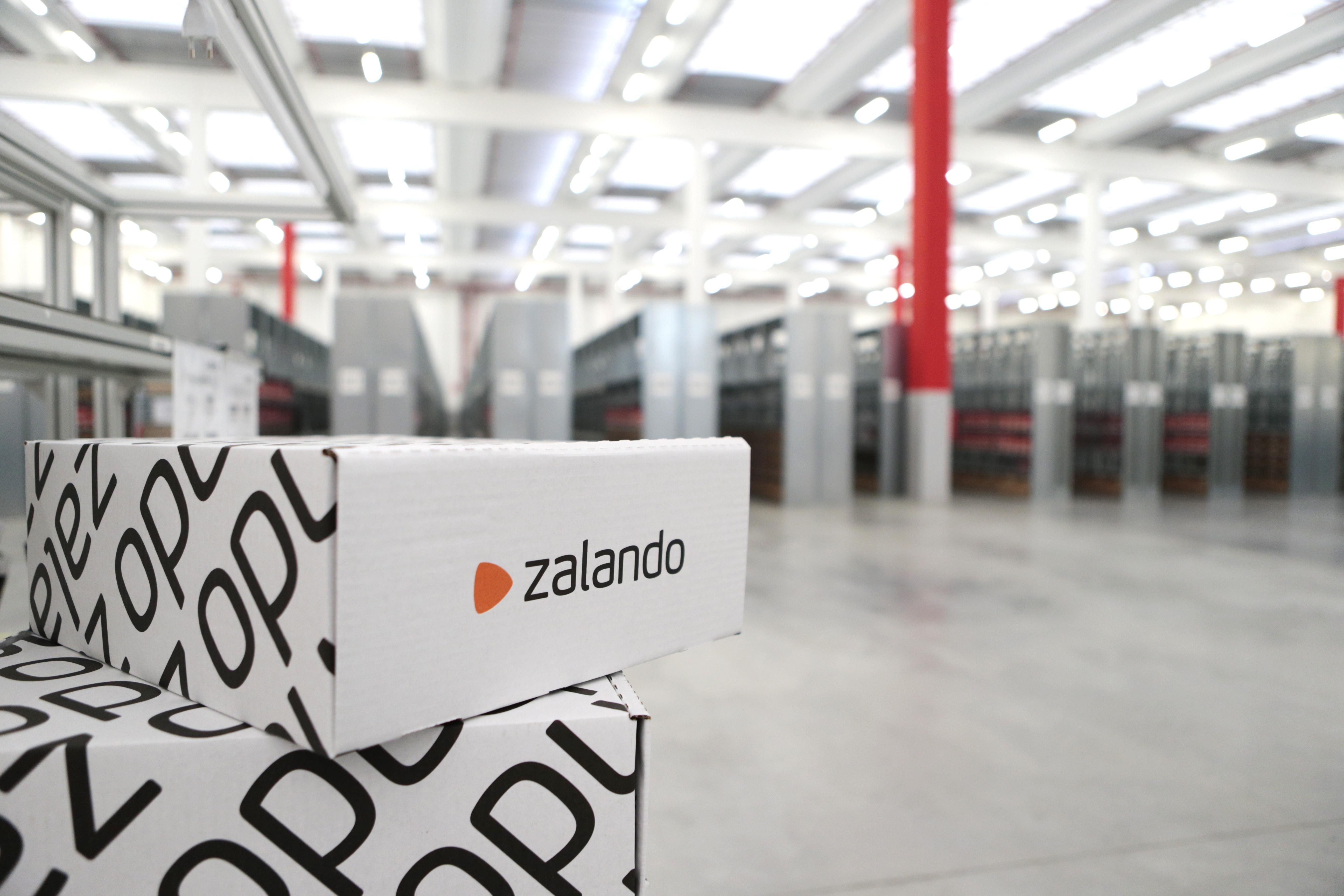 A Zalando fulfillment center.