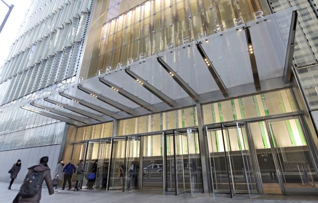 Condé Nast headquarters at 1 World Trade Center.