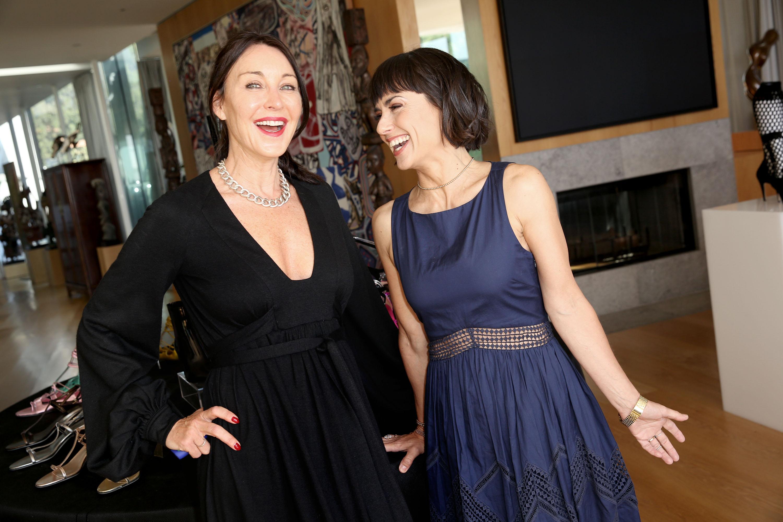 Tamara Mellon and Constance Zimmer.