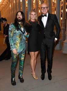 LACMA Art + Film Gala 2016 Alessandro Michele Gwyneth Paltrow Marco Bizzarri