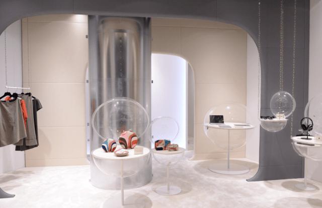 Alcantara Concept Store in Milan.