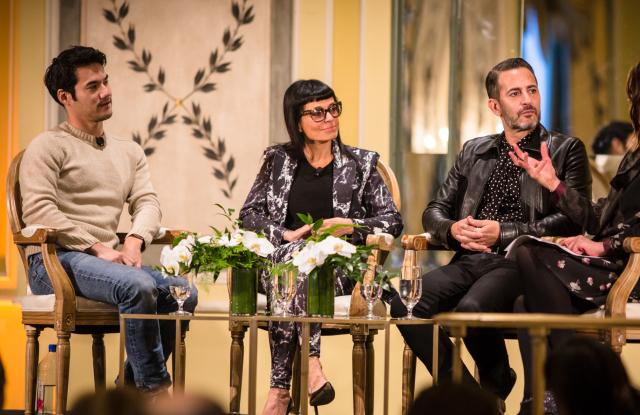 Joseph Altuzarra, Norma Kamali and Marc Jacobs