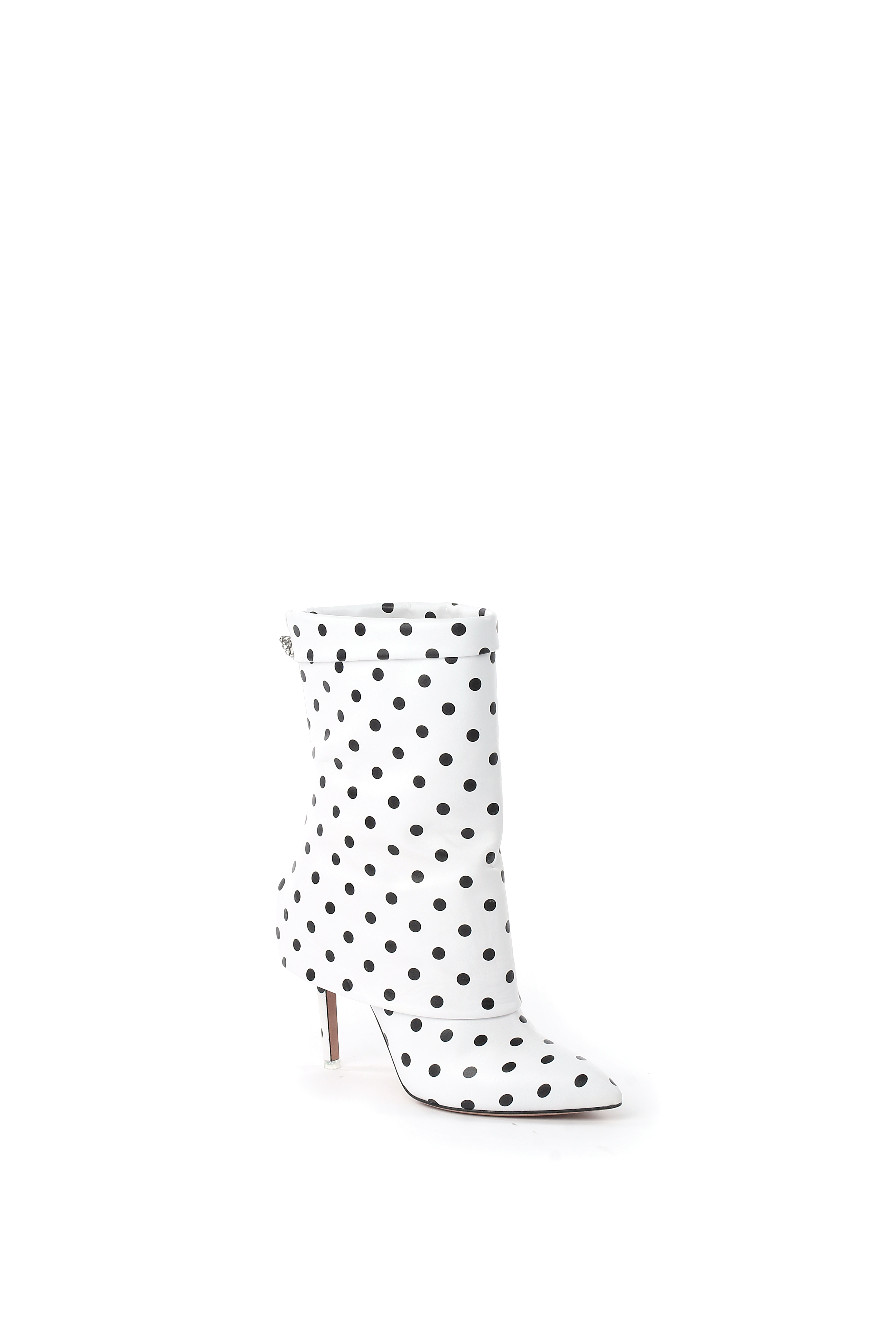 A boot from the Emanuel Ungaro capsule with Francesca Mambrini.