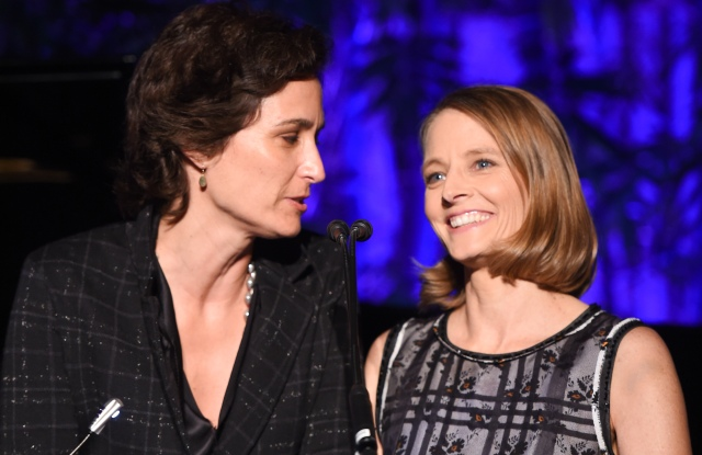 Hammer Museum Gala in the Garden 2016 Alexandra Hedison and Jodie Foster