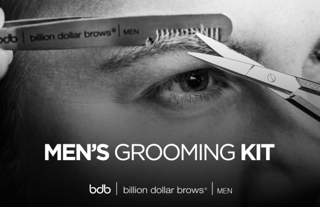 Billion Dollar Brows' Men's Grooming Kit