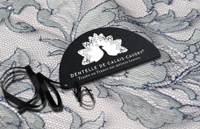 A Dentelle de Calais-Caudry lace.