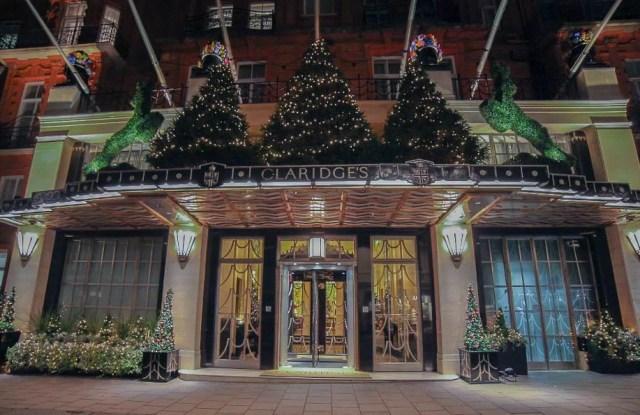 Claridge's hotel in London's Mayfair.
