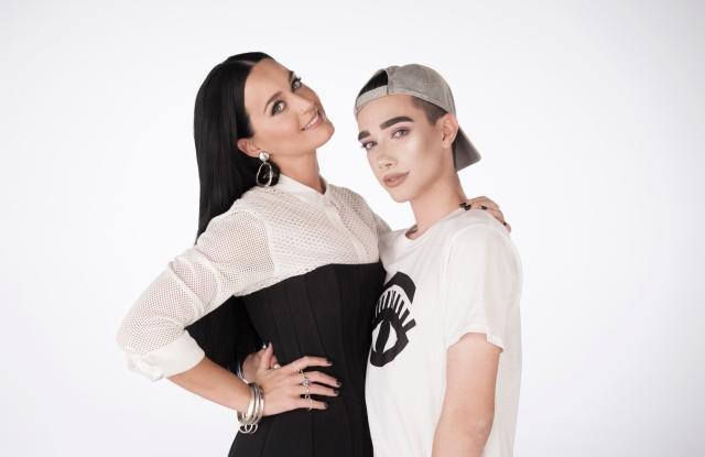 Katy Perry and James Charles Cover Girl
