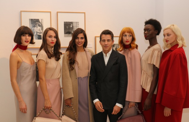 Agnona Holds Event in Berlin