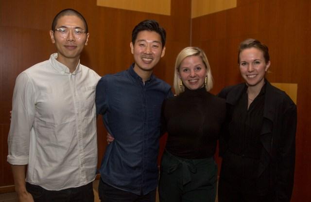 Timothy Joo, Daniel Joo, Jaime Barker and Megan Balch