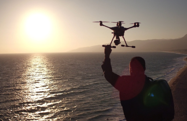 Kill Spencer teamed with Intel to shoot a marketing video using the tech firm's RealSense technology in a drone.