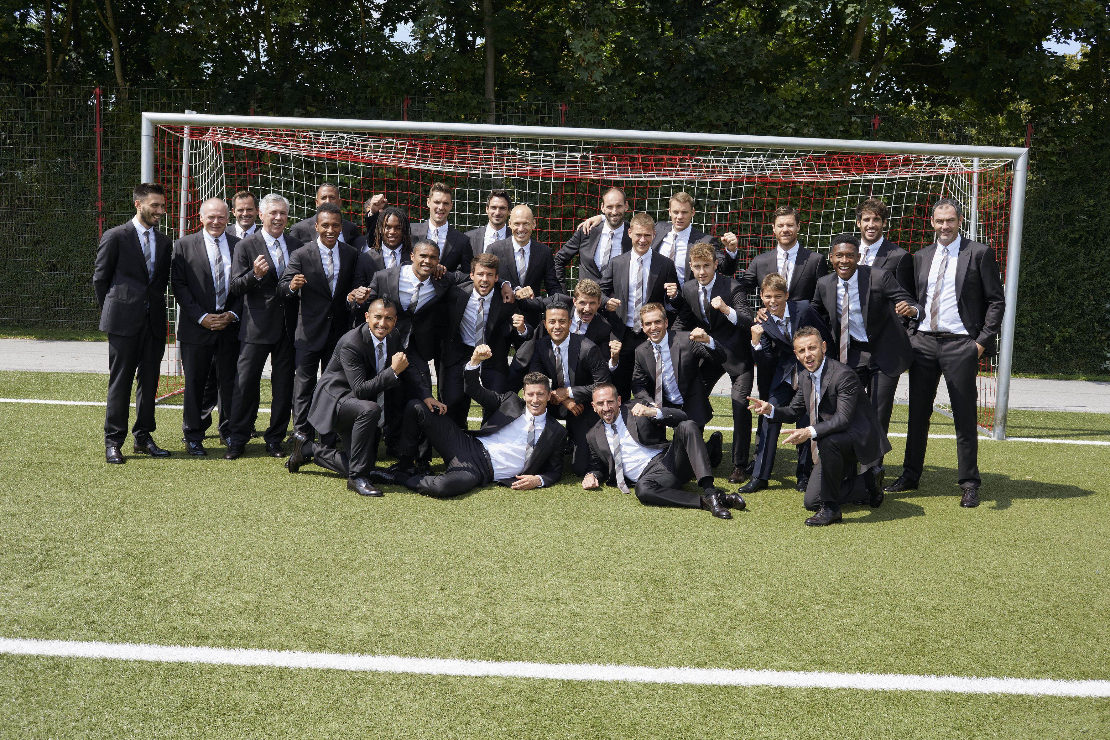 The official team photo shot by Juergen Teller