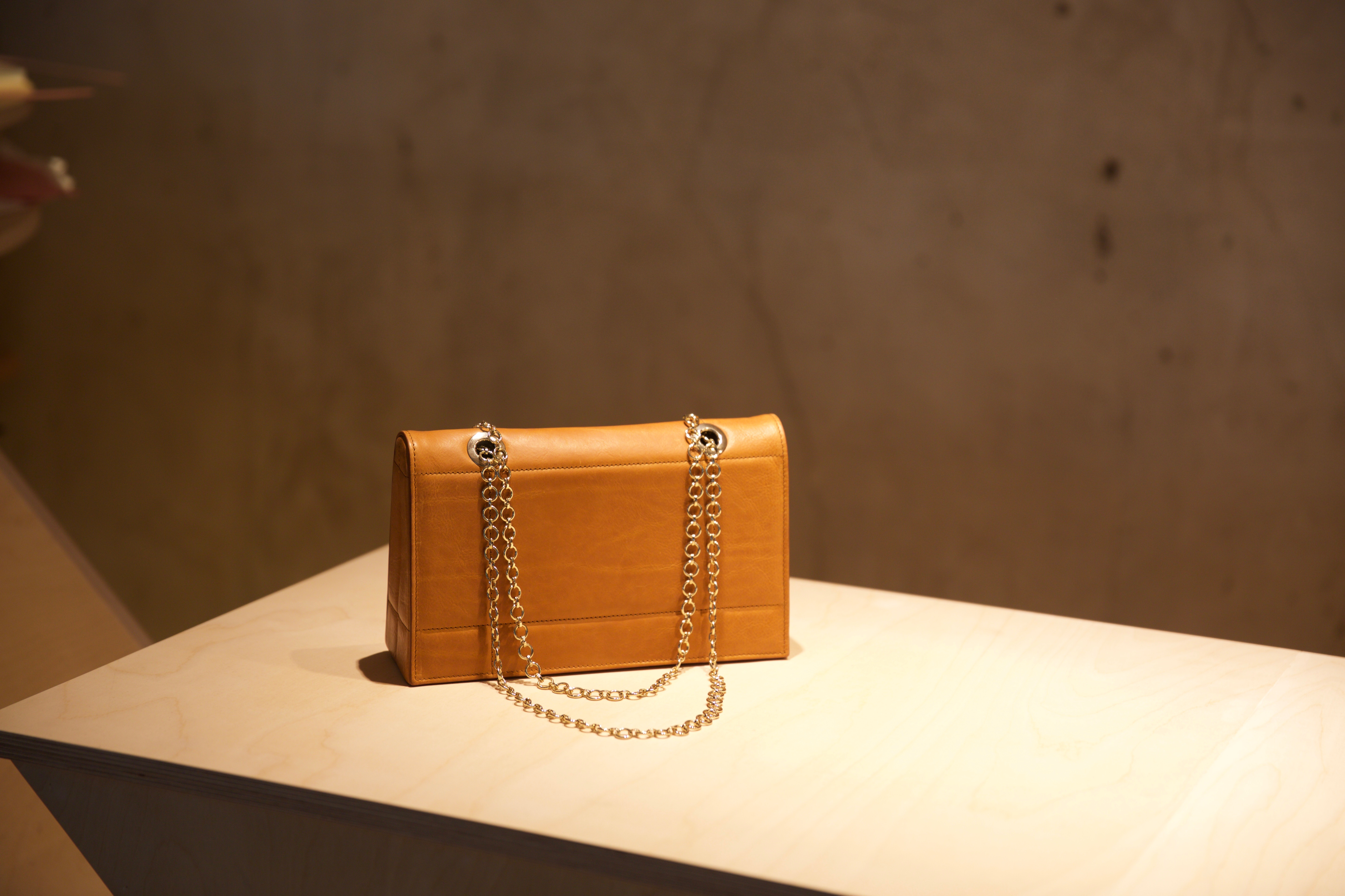 A handbag from Mary Ping's Lafayette Anticipation exhibit
