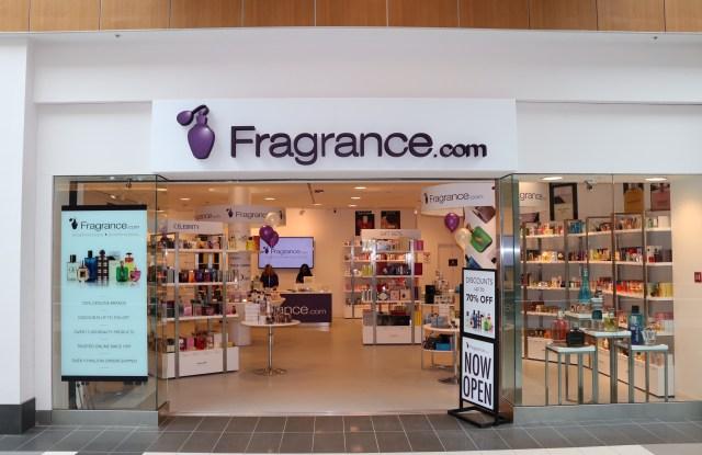 Fragrance.com's first pop-up shop.