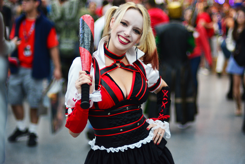 Harley Quinn cosplay New York Comic Con 2016