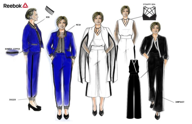 Hillary Clinton has imagined an ActivChill power pantsuit for Hillary Clinton.
