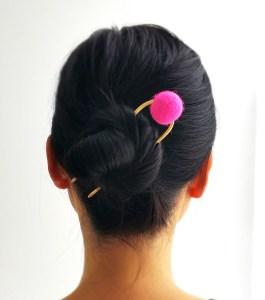 Hy Works Spring 2017 pink hairpin