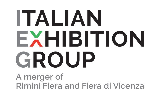 The new logo created following the integration of Rimini Fiera and Fiera di Vicenza