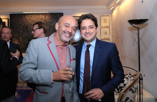 Christian Louboutin and Carlos Jereissati Filho