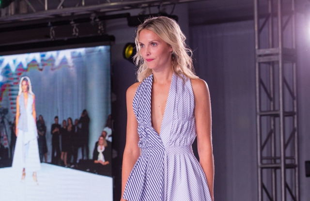 Adam Lippes showed at the Rush Charity Fashion Show