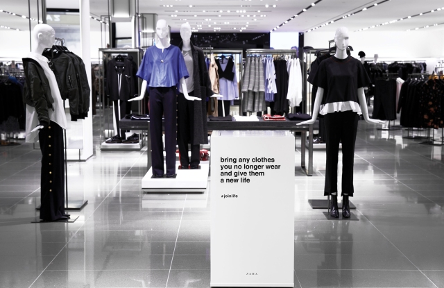 Zara Join Life collection.