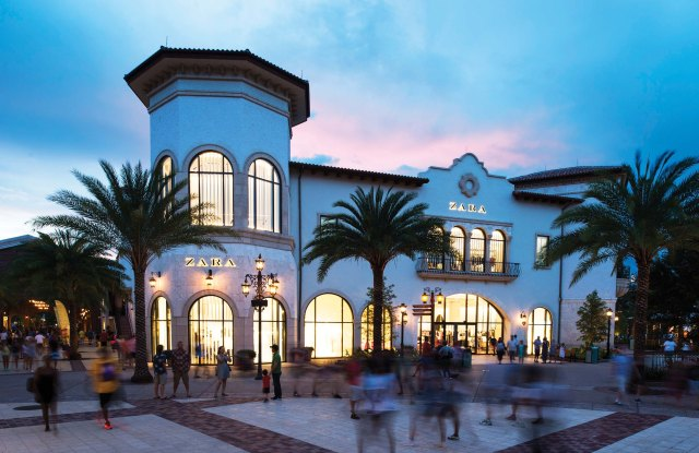 Zara at the rebranded Disney Springs shopping complex.