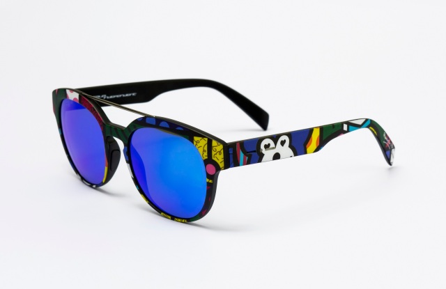 A style from the Italia Independent Capsule Collection with Romero Britto