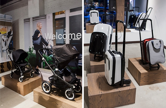 Bugaboo's stroller line and Boxer system.