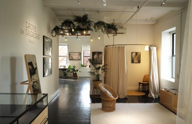 Laure de Sagazan's SoHo showroom.