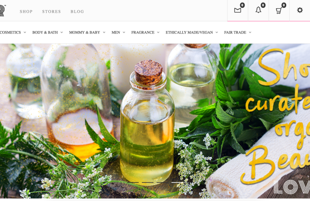 Lovr is an e-commerce platform for green beauty stores.