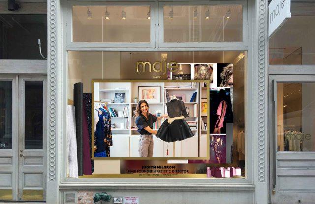 Judith Milgrom Maje Paris window