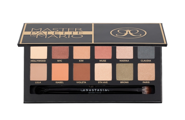 Makeup artist Mario Dedivanovic and beauty brand Anastasia Beverly Hills partnered on a $45 palette with 12 eye-shadow shades.